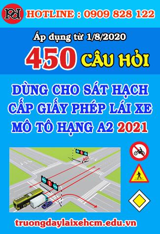 thi thử bằng lái xe máy a2 2020 18 bộ đề 450 câu hỏi