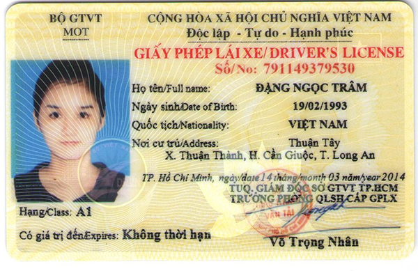 Mất giấy phép lái xe, có được dùng bản sao công chứng không ?