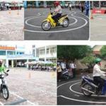 Thủ tục thi bằng lái xe máy a1 tại quận 10 gồm những gì ?