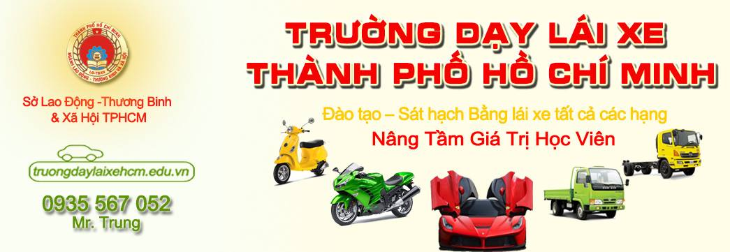 Trường dạy lái xe hcm