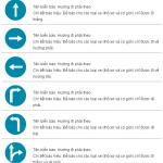 Kỹ năng học lái xe ôtô: Biển báo hiệu lệnh