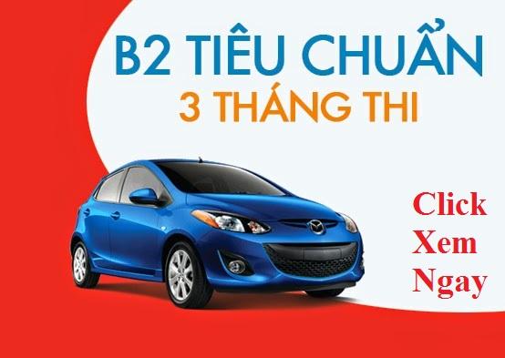 Học lái xe ô tô B2 tại TPHCM rẻ nhất
