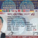 Phạt 6 triệu đồng, Nếu có giấy phép lái xe quốc tế nhưng không mang GPLX quốc gia