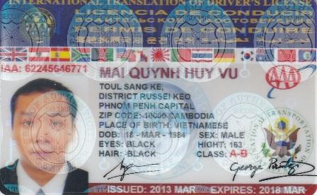 Thông báo mới nhất, Người điều khiển phương tiện cơ giới có đổi giấy phép lái xe quốc tế về việt nam mà không mang theo GPLX quốc gia bị phạt 6 triệu đồng