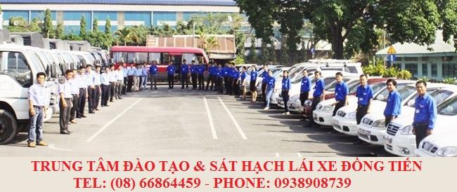 Đội ngũ nhân viên tại Trung Tâm Đồng Tiến