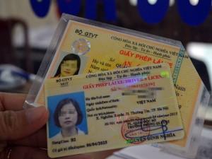 đổi giấy phép lái xe hết hạn