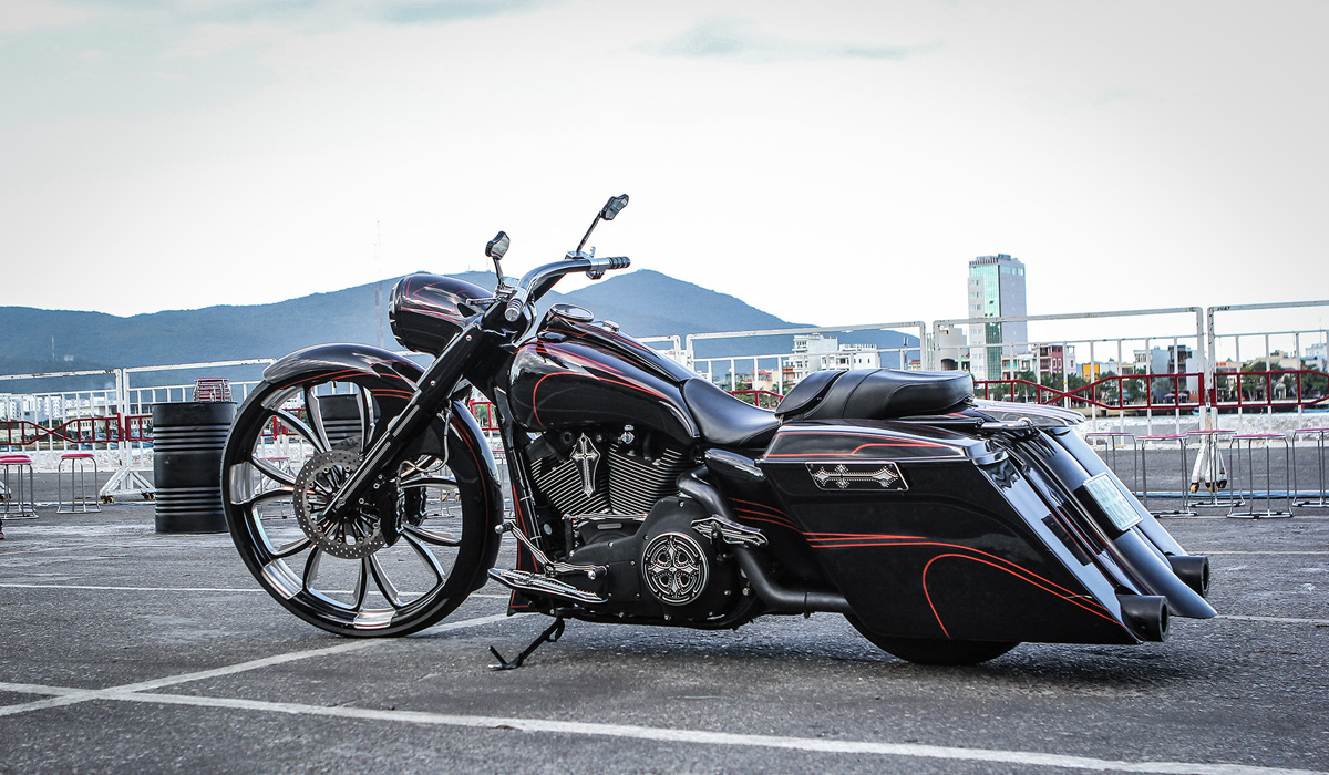 [Harley-Davidson] Xế độ đẹp nhất Vietnam Bike Week 2016 3779