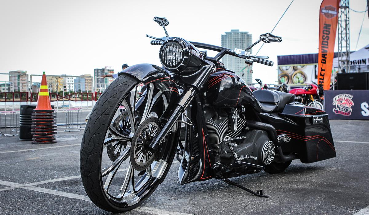 [Harley-Davidson] Xế độ đẹp nhất Vietnam Bike Week 2016 3781