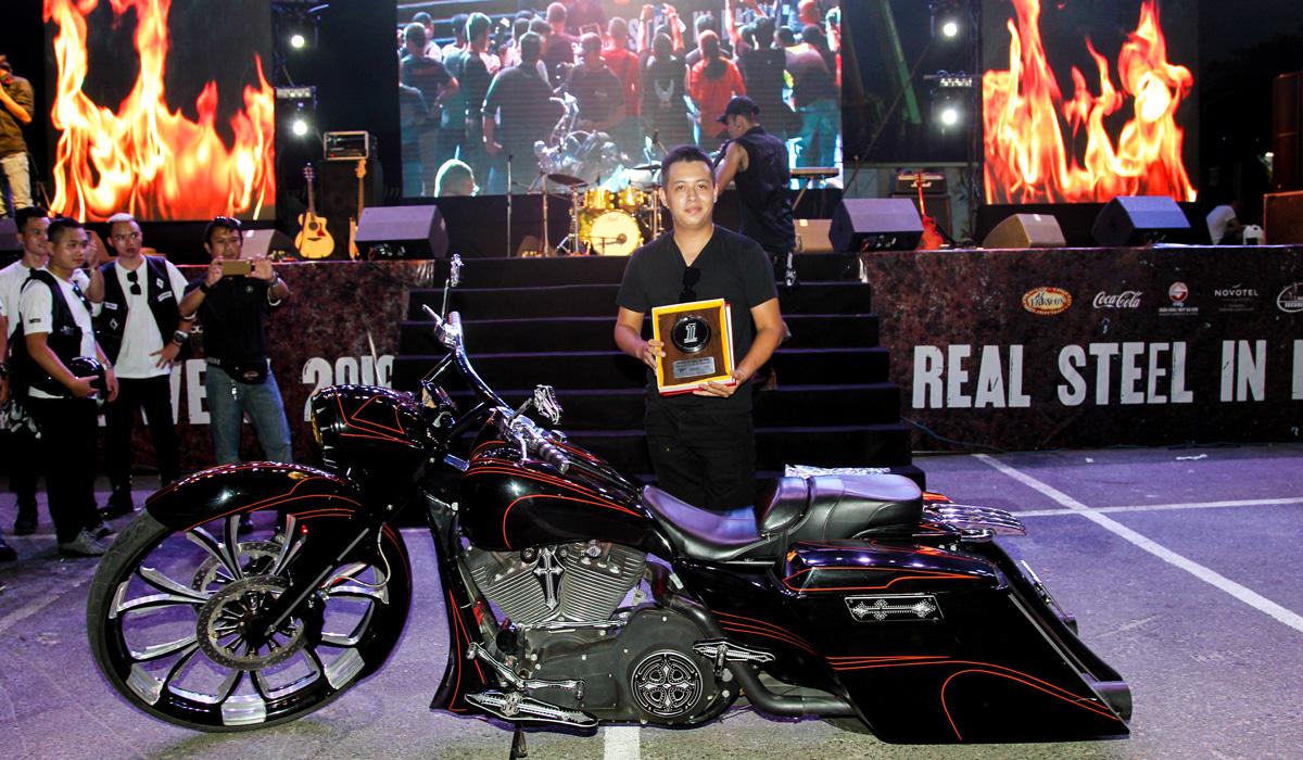 [Harley-Davidson] Xế độ đẹp nhất Vietnam Bike Week 2016 3786