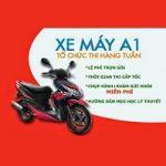 Thi bằng lái xe máy A1 quận Bình Tân
