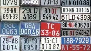 Hiểu chữ cái xuất hiện trên biển số xe ô tô tại việt nam