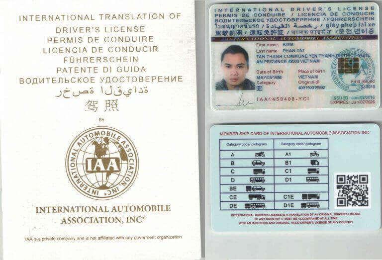 Quy trình đổi bằng lái xe quốc tế đơn giản
