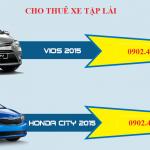 Cho thuê xe tập lái giá rẻ tphcm tại Trung tâm Đồng Tiến