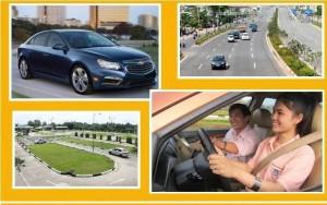Thuê xe tập lái giá rẻ tại tphcm