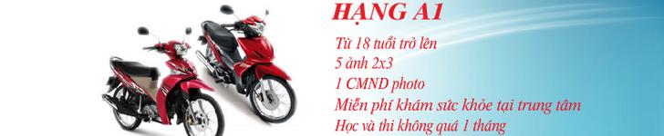 Thi bằng lái xe máy quận Tân Bình