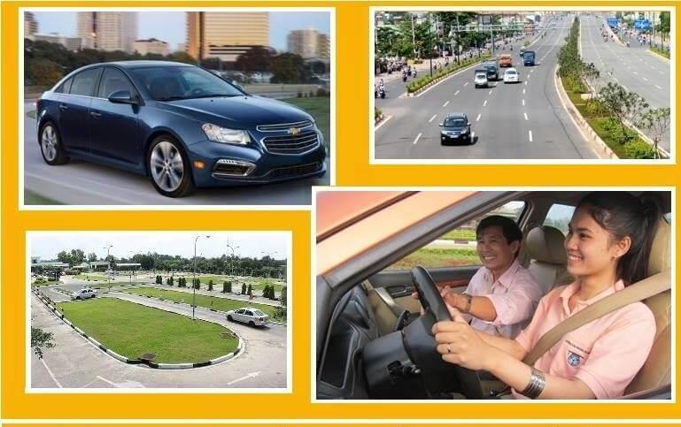 Trung tâm học lái xe ô tô quận 3 tphcm