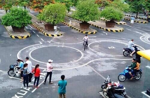 Trung tâm thi bằng lái xe máy ở quận 3 tphcm