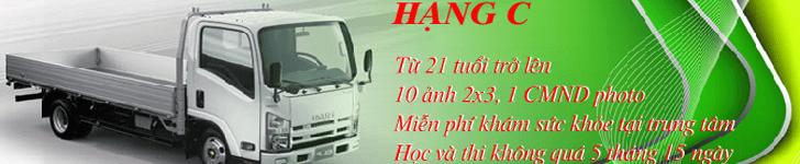 Học bằng lái xe ô tô tải tphcm