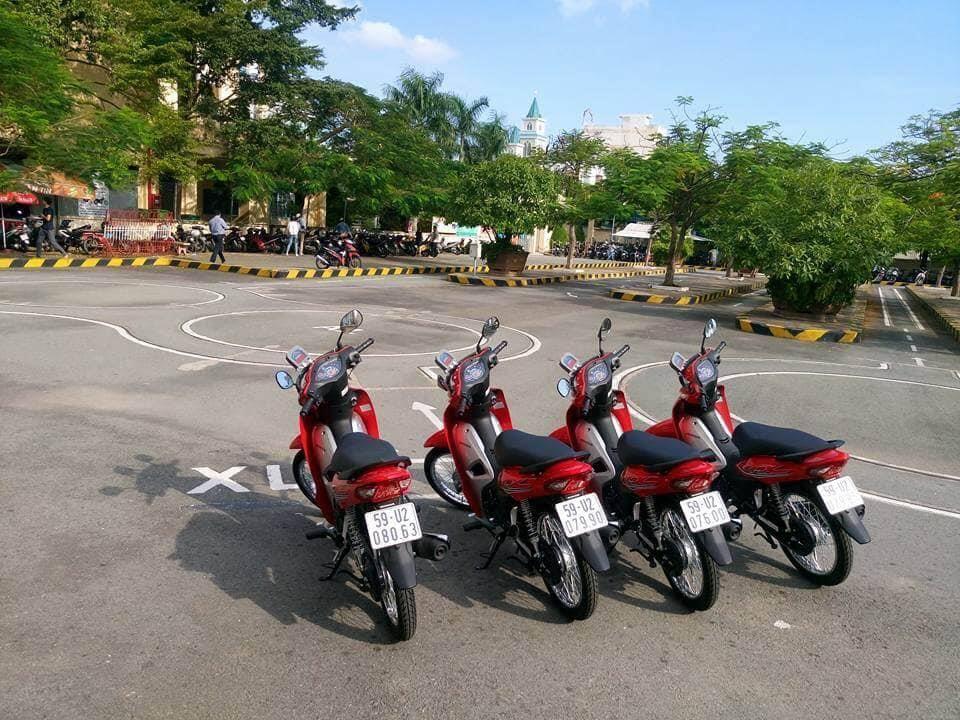 Thi bằng lái xe máy Cần Đước Long An