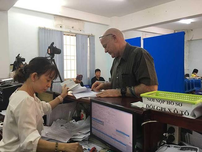 Văn phòng địa chỉ cấp đổi bằng lái xe quốc tế IAA Mỹ cấp tại Việt Nam.